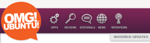 Das neue Design von OMG! Ubuntu!
